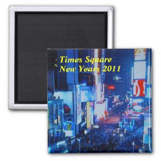 Años Nuevos de imán 2011 del Times Square