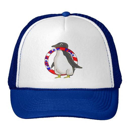 Años Nuevos de pingüino Gorro