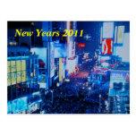 Años Nuevos de postal 2011 del Times Square