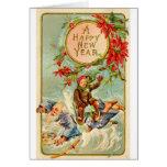 Años Nuevos de tarjeta de felicitación