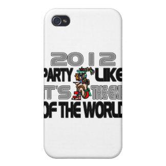 Años Nuevos mayas 2012 iPhone 4/4S Fundas
