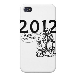 Años Nuevos mayas 2012 iPhone 4 Carcasas