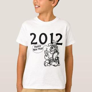 Años Nuevos mayas 2012 Playera