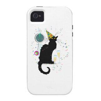 Años Nuevos Noir de la charla iPhone 4/4S Carcasas