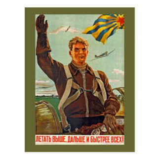 Años Nuevos socialistas de tarjeta 9 Postal