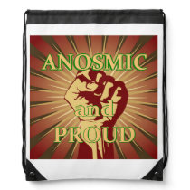Anosmia Drawstring Backpack