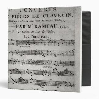 """Anote la hoja para 'Concerts de Pieces de Carpeta 1 1/2"""""""