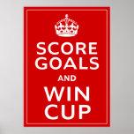 Anote las metas y gane el ~ Inglaterra Footie de l Impresiones