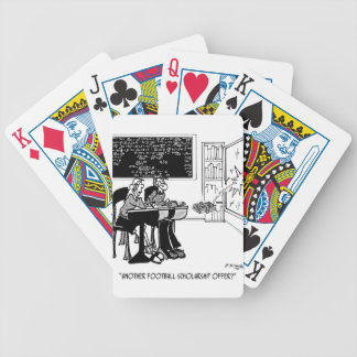 Another Athletic Scholarship Bicycle Playing Cards
