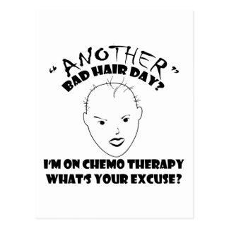 Another Bad Hair Day? Postcard