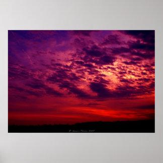 Another Beautfiul Sunset Poster