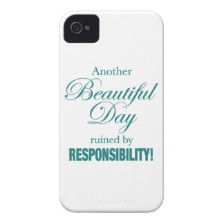 Another Beautiful Day Ruined! iPhone 4 Case