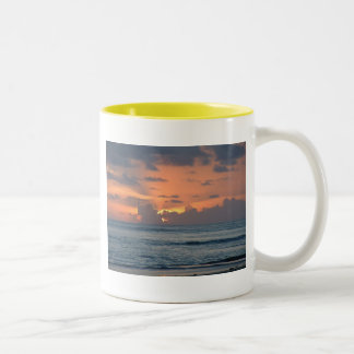 Another Beautiful Day Two-Tone Coffee Mug