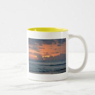 Another Beautiful Day Two-Tone Coffee Mug