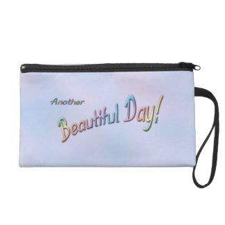 Another Beautiful Day Wristlet
