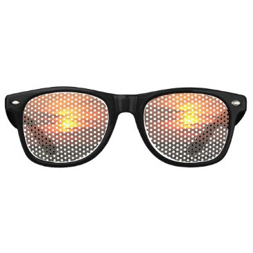 Beach Themed Another Beautiful Sunset Retro Sunglasses