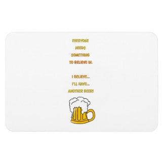 Another beer rectangular photo magnet