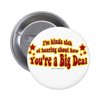 Another Big Deal Design Pinback Button