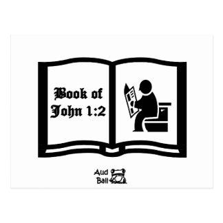 Another Book of John verse 1:2 Postcard