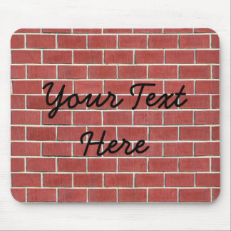 Another brick in the wall mouse mat