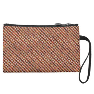 ANOTHER BRICK IN THE WALL! (Red Brick Pattern) ~ Wristlet Purses
