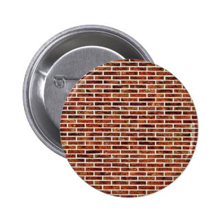 ANOTHER BRICK IN THE WALL! (Red Brick Pattern) ~ Button