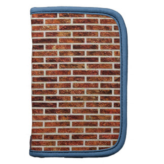 ANOTHER BRICK IN THE WALL! (Red Brick Pattern) ~ Folio Planner
