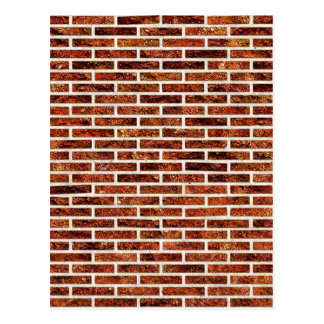 ANOTHER BRICK IN THE WALL! (Red Brick Pattern) ~ Postcard
