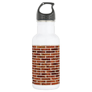ANOTHER BRICK IN THE WALL! (Red Brick Pattern) ~ Water Bottle