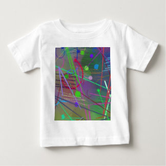 Another Busy Day Ricochet Color Fun Colorful Baby T-Shirt