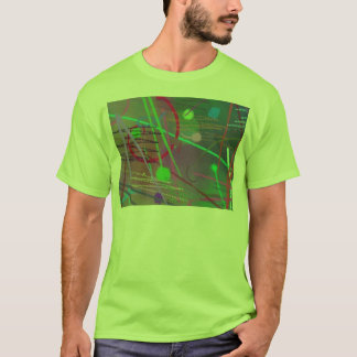 Another Busy Day Ricochet Color Fun Colorful T-Shirt