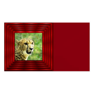 another cheetah Double-Sided standard business cards (Pack of 100)