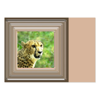 another cheetah large business cards (Pack of 100)