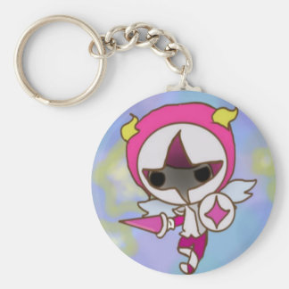 Another chibi knight basic round button keychain