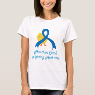 Another Chick Fighting Arthritis Womens T-shirt