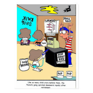 Another Child Star Criminal Funny Gifts & Tees Postcard