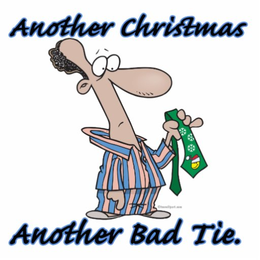 another christmas another bad tie cut out