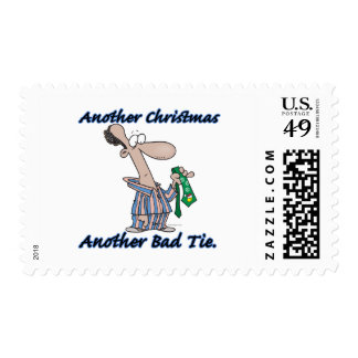 another christmas another bad tie postage stamp