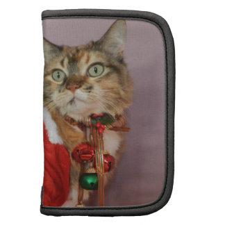 Another Christmas Santa cat Folio Planner