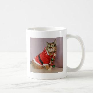 Another Christmas Santa cat Classic White Coffee Mug