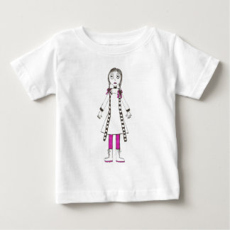 Another Creepy Girl Baby T-Shirt