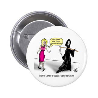 Another Danger of Bipolar: Flirting With Death Buttons