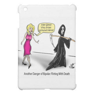 Another Danger of Bipolar: Flirting With Death Cover For The iPad Mini