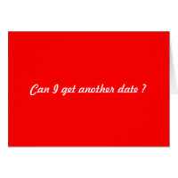 Another date request card