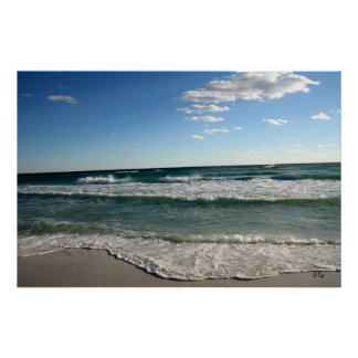 Another Day at the Beach Poster, S Cyr