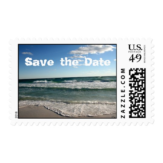 Another Day at the Beach, Save the Date, S Cyr Postage
