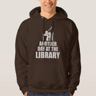 Another Day At The Library Hoodie