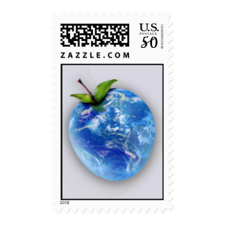 """""""Another Day on Earth"""" Postage Stamps"""
