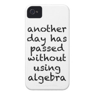 Another Day Without Algebra iPhone 4 Case