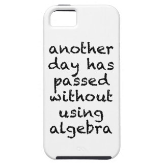 Another Day Without Algebra iPhone SE/5/5s Case
